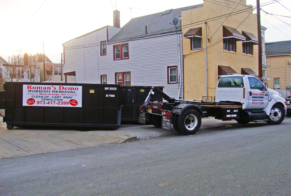 Rubbish and Junk Removal in NJ - Romans Demolition Services